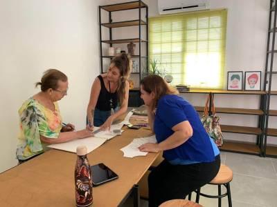 Coworking criativo e ateliê em São Paulo