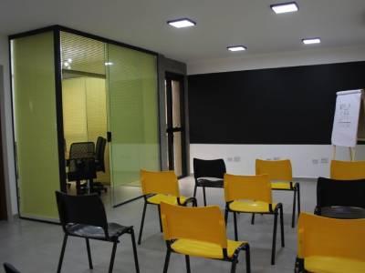 Espaço para treinamentos na Vila Romana